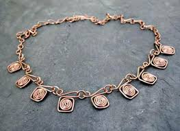 copper necklace images Handmade 12 step jewelry gifts jpg