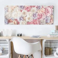 simply shabby chic misty rose canvas art u0026 galleryprints wall design on your deco shop co uk