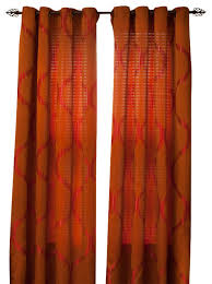 Rust Colored Curtains Rust Colored Curtains