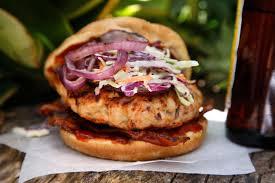 chipotle bacon turkey burger recipe chowhound