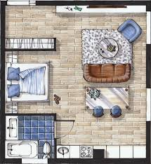 Draw Simple Floor Plans by Interior Sketching With Markers For Beginners Ecourses Book