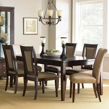 steve silver wilson 7 piece contemporary dining set with parsons