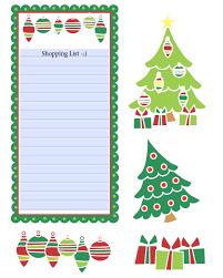 christmas shopping list christmas shopping list clipart 56