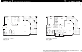 quantum on the bay floor plans positano beach hollywood condos for sale and rent bogatov realty
