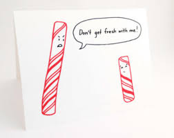 cute christmas card punny holiday card by euclidstreetshop