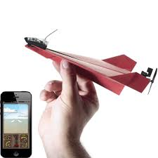 powerup 3 0 smartphone controlled paper airplane powerup toys