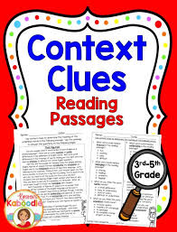 best 25 5th grade context clues ideas on pinterest middle