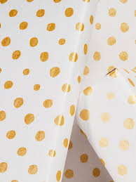 polka dot wrapping paper organic geometry wrapping paper