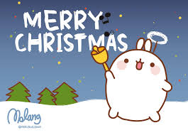 merry christmas jingle bells wallpapers molang merry christmas http www facebook com molangfrance