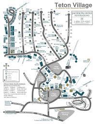 Map Of Park City Utah by Jackson Hole Area Maps