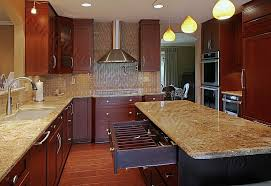 Plain Cherry Kitchen Cabinets Photo Gallery Natural Cabinet - Cherry cabinet kitchen designs