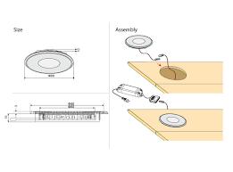 12v recessed round led floor light for bathroom buy 12v round