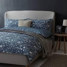buy john lewis freya cotton bedding loch blue john lewis