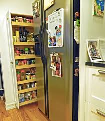 best kitchen storage ideas with simple creations refrigerator