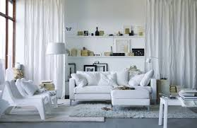 scandinavian interior design style aseptically white interior of the living room in scandinavian style
