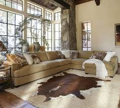 Pottery Barn Official Website Pottery Barn Hampton Sectional Sofa How To Arrange Pillows On A
