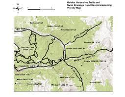 Breckenridge Colorado Map by Golden Horseshoe Trail And Restoration Planning Starts U2013 Summit