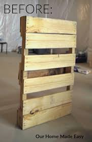 the quick u0026 practically free pallet wine rack super easy u2022 our