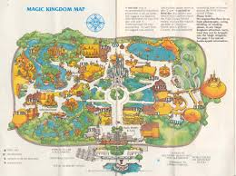 Map Of Orlando Florida by Magic Kingdom Guide Book 1982 Photo 1 Of 13