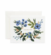 thank you bouquet greeting card by rifle paper co made in usa