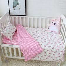 cheap baby bedding for girls aliexpress com buy 3pcs set 100 cotton baby bedding set