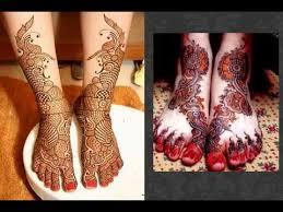 beautiful mehndi designs for legs