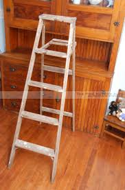Small Ladder Bookcase by Rustic Ladder Shelf Great Home Design References Home Jhj