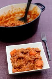 cuisiner les haricots blancs sauté de veau aux haricots blancs chorizo et carottes amandine