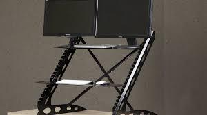 Workfit D Sit Stand Desk by Affordable Standing Desk Kickstarter Decorative Desk Decoration