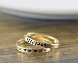 day rings personalized day rings personalized jerezwine jewelry