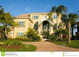 mansion in florida stock image image 2099731