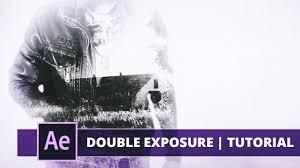 tutorial double exposure video true detective title double exposure after effects tutorial