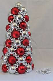 ornament tree out of styrofoam cone tutorial easy