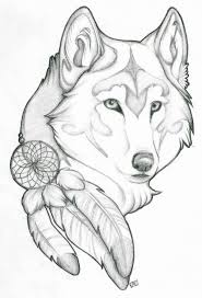 simple and cool feather wolf golfian com