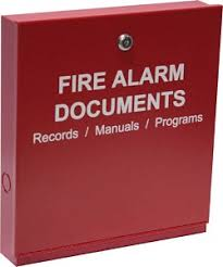 Space Age Electronics Fdb Fire Alarm Documents Box