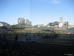 Chicago Cubs Seat Map by Wrigley Field Section 118 Chicago Cubs Rateyourseats Com