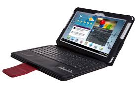 ivso samsung galaxy note 10 1 bluetooth keyboard portfolio case