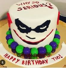 joker birthday cake my cake creations pinterest joker
