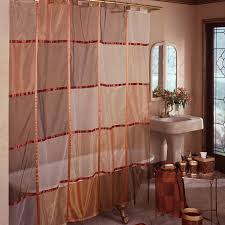 Fabric Shower Curtains With Matching Window Curtains Fabric Shower Curtain Diy Simple Sink Corner Steel Pole Combined