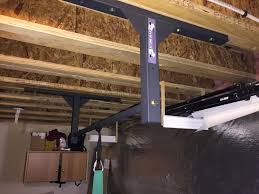mounting a pull up bar to engineered beams tji floor joists