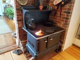 wood burning stove pond mountain inn