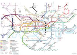 map of the underground in someone has redesigned the map and it s brilliant