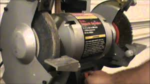 Sharpening Wheel For Bench Grinder How To Dress A Grinding Wheel Youtube