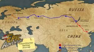 Siberia On World Map by Trans Siberian Railway Journey Starksepicadventure
