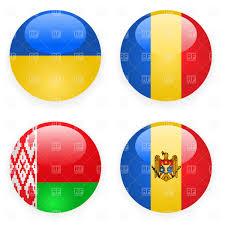 Flag Download Free Belarus Ukraine Rumania And Moldavia Button Flags Royalty Free
