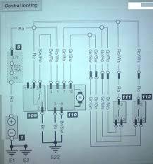skoda fabia central locking wiring diagram skoda octavia vrs