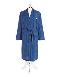 robe de chambre ralph robe de chambre tissée en tartan de coton la baie d hudson