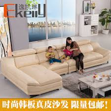 Sofa Section Factory Selling High Quality Genuine Leather Sofa Section Sofa
