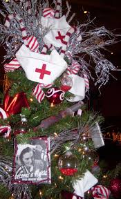 nurses christmas tree diy u0026 repurposing pinterest