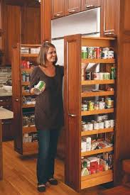 pull out tall kitchen cabinets photo gallery of amber and dave jensen s kitchen baking supplies
